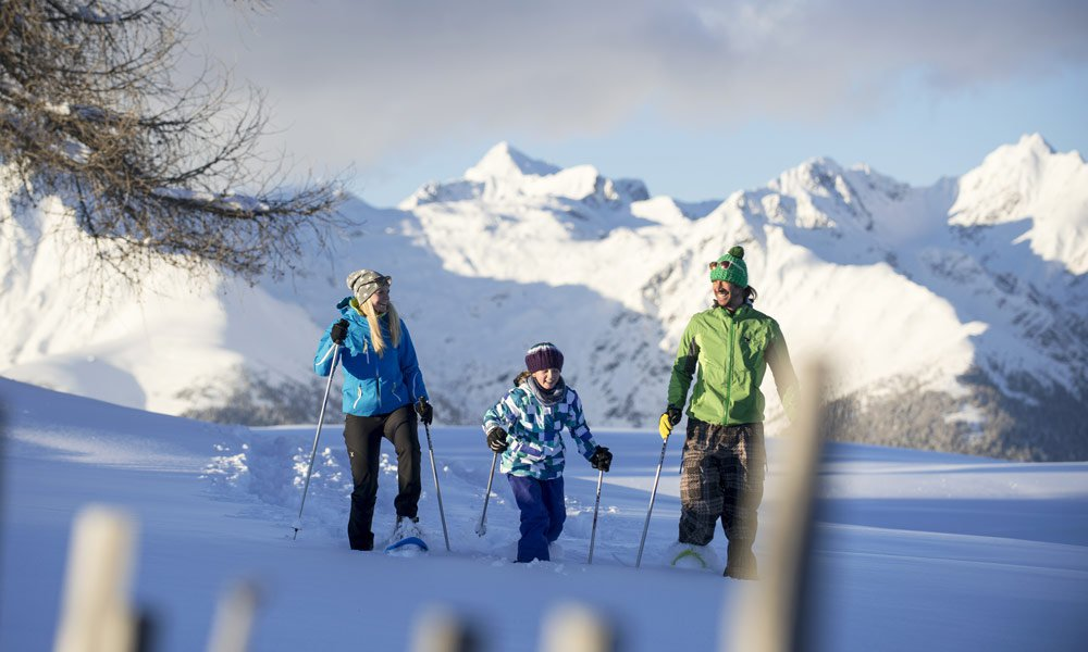 Excellent winter destination with open huts and lodges