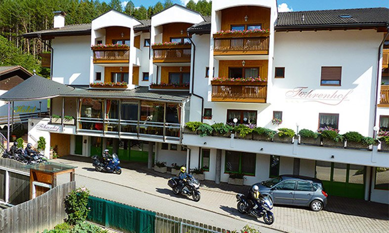 Your Biker-Hotel in the Dolomites: Bikers welcome!