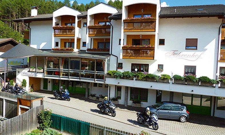 Ihr Motorradhotel in den Dolomiten: Biker welcome!