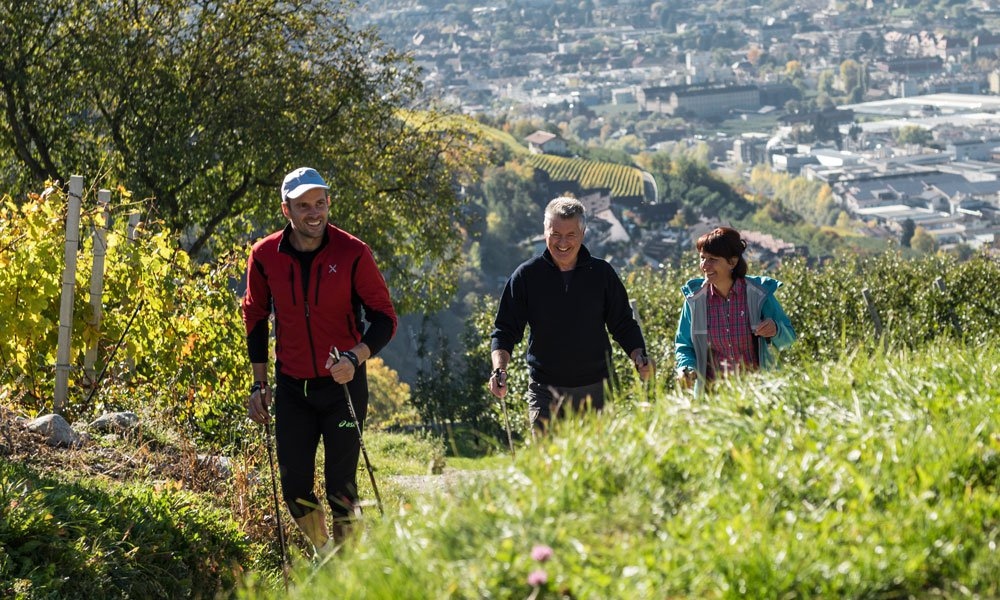 Nordic Walking in Valle Isarco: Your perfect Health Holiday