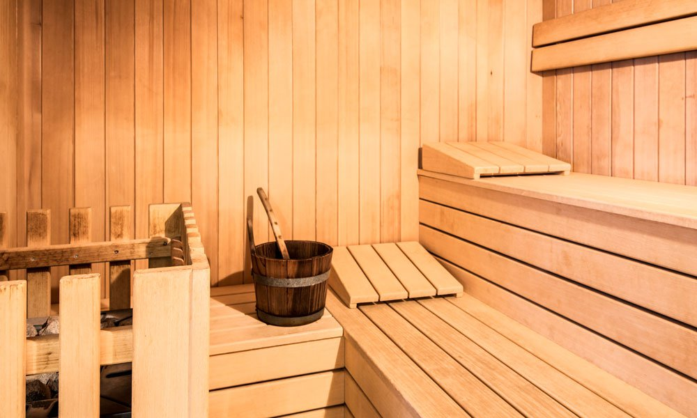 Various sauna facilities